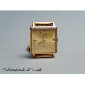 Reloj Silvana Enchapado Oro Correa Talma 17 Rubies Fechador