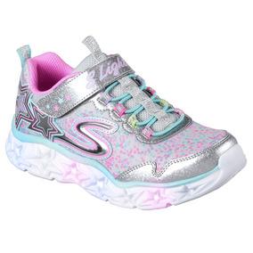 Zapatillas Skechers Niña Galaxy Lights Luces Deportivas