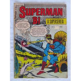 Superman Bimestral Nº 14 - 1967 - Ed. Ebal