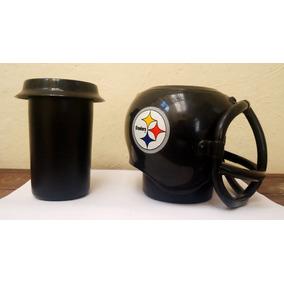 Padrisimo Casco Porta Vaso Nfl De Los Pittsburgh Steelers 61fd0dcf3d7