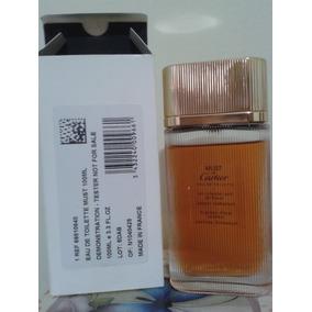 e695aabbea8 Perfume Must De Cartier Feminino Edt 100ml Tester Usado