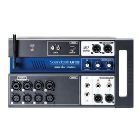 Mixer Mesa De Som Digital Ui-12 - Soundcraft.