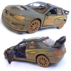 Miniatura Subaru Impreza 2007 Ferro Metal Fricção 1/36