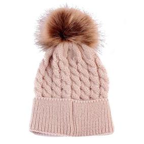 Pom Pom Touca Gorro Bebe Touquinha Croche Inverno. 4 cores 789b0318ff2