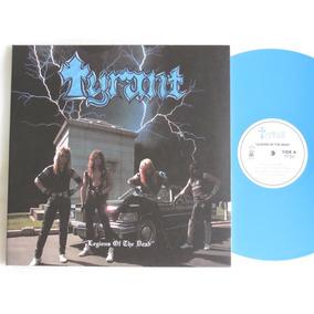 Tyrant Legions Of The Dead Lp Blue Iron Maiden Metallica