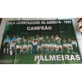Poster Palmeiras Campeão Libertadores 1999