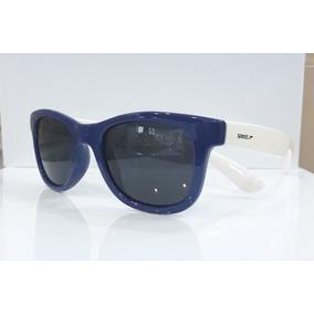 Óculos De Sol Infantil Speedo Flip Azul Com Haste Branca f290cf2864