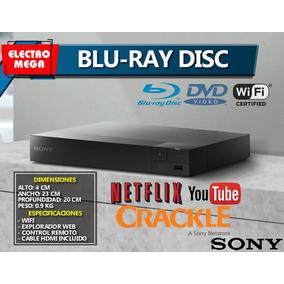 Reproductor De Bluray Dics Dvd Sony Con Super Wifi Smart