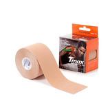 Tape Elástica Bandagem Kinesio Kit C/2 5cmx5m Bege