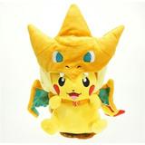 Pikachu Charizard Peluche Pokémon Center