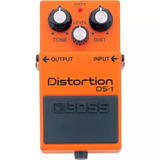 Pedal Guitarra Boss Ds1 Distortion - Loja Autorizada