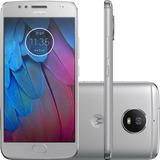 Smartphone Moto G 5s Dual 32gb 4g Câmera 16mp Prata Vitrine