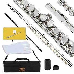 Flauta Con Forro Instrumento Musical Glory