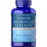 Hydrolyzed Collagen 180 Cápsulas Puritan`s Pride