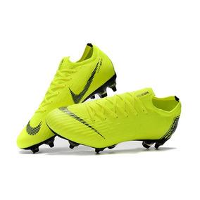 Chuteira Nike Mercurial Vapor Xll Elite Sg Green Campo Prof.