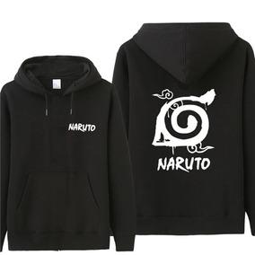 398c823897 Moletom Casaco Blusa Canguru Naruto Aldeia De Konoha Unissex