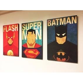 Cuadros Infantiles De Superheroes Decoracion - Decoración para el ... 9369d5b1789