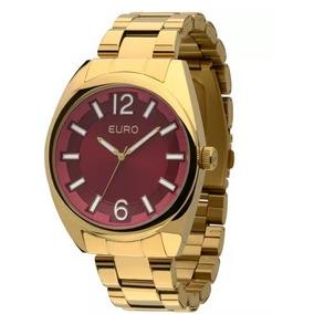 Relógio Euro, Dourado Feminino Eu2035xzj