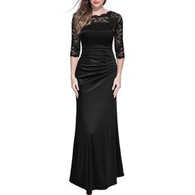 8a4ec06ee Vestidos De Noche Largos Para Boda Veracruz Mujer - Vestidos Negro ...