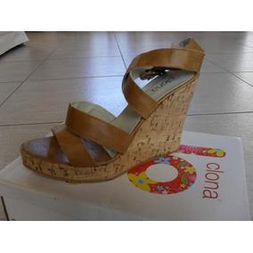 46b22711642c7 Zueco Mujer Plataforma Corcho - Zapatos Piel en Mercado Libre Argentina