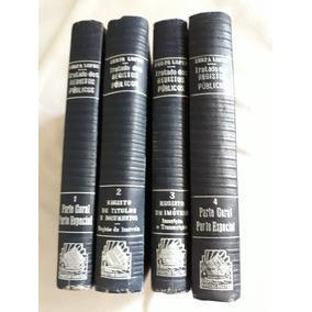4 Volumes Tratado Dos Registros Públicos Anos50 Serpa Lopes-