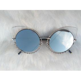0f6b712753935 Oculo Sol Pedra Strass De Fendi - Óculos no Mercado Livre Brasil