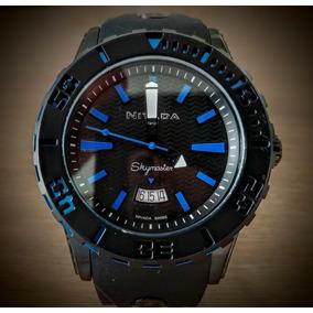 Reloj Nivada Np 11204 Caballero Skymaster Azul