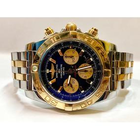 792f2170f72 Breitling Chronomat Aço E Ouro 44mm Completo E Impecável
