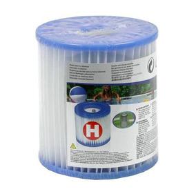 Cartucho Modelo H Refil Filtro Intex Para Bomba Filtrante