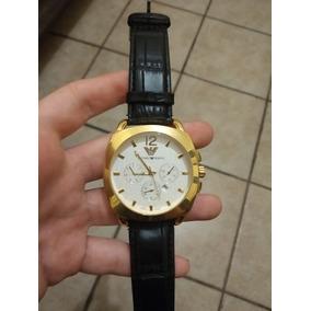 Relógio Emporio Armani Ar-766 Original Dourado