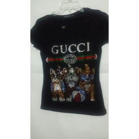 Blusa Gucci Cats Puedreira Bordada 8a7666b1c46