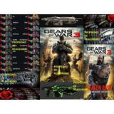 Gears Of War 3 Edicion Completa Xbox 360 Licencias