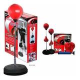 Punching Ball Niño Set 90-120 Cm Ajustable - Sdmed