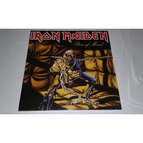 Lp Iron Maiden Piece Of Mind Vinil Novo E Lacrado Eu