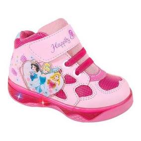 Tenis Bota Princesas Luz Integrada Niñas Price Shoes 136266