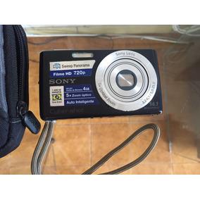 Câmera Digital Sony Com Cartão De Memória