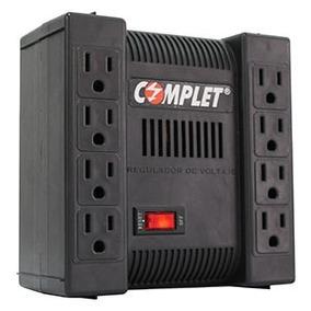 Regulador De Voltaje Con Supresor De Picos Complet Xp1300