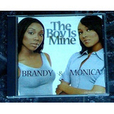 Cd-single-brandy E Monica-the Boy Is Mine-em Otimo Estado eeb567d412