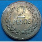 Colombia Moneda 2 Pesos 1977