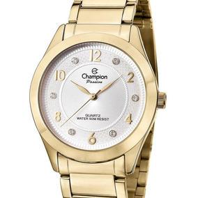 Relógio Champion Feminino Dourado - Cn29230h