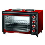 Horno Electrico Ultracomb 40 Lts Con 2 Anafes Uc40ac 3200w
