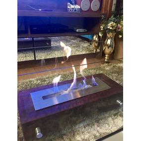 Lareira Ecológica Completa 60cm - Inox - Frete Grátis