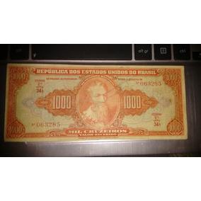 Cédula 1000 Cruzeiros Autografada-2ªestampa-rara! Original!!