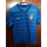 Camisa Seleção Brasileira Azul 2014 no Mercado Livre Brasil c74ca4ace958f