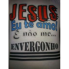 Camisa Sou Cristão E Não Me Envergonho