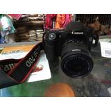 Camara Profesional Canon 70d