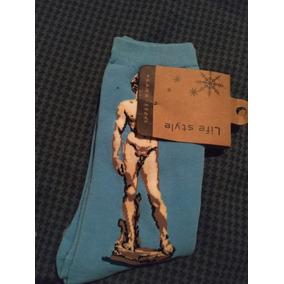 Calcetines Locos Chistosos De Arte El David Nuevos C Etiquet