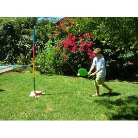 Tenis Orbital Giraball Palo Con Pelota Cautiva Transportable