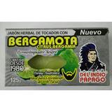 Jabón Bergamota Barba,bigote,estimula,exfolia,control Acné