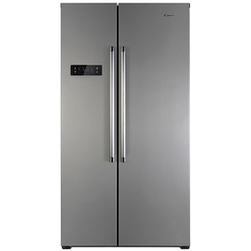 Heladeras Candy Cxsn172 Ixh Side By Side Inox Frio Seco